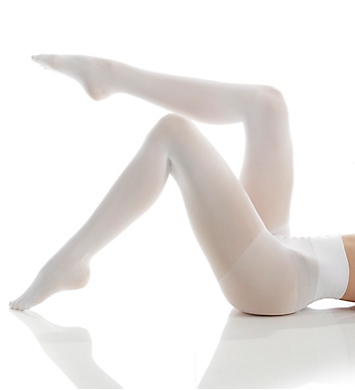 DKNY Hosiery Opaque Coverage Tights with Control Top