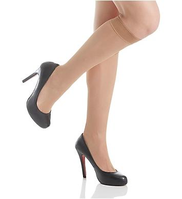 DKNY Hosiery Micro Net Knee High - 2 Pack