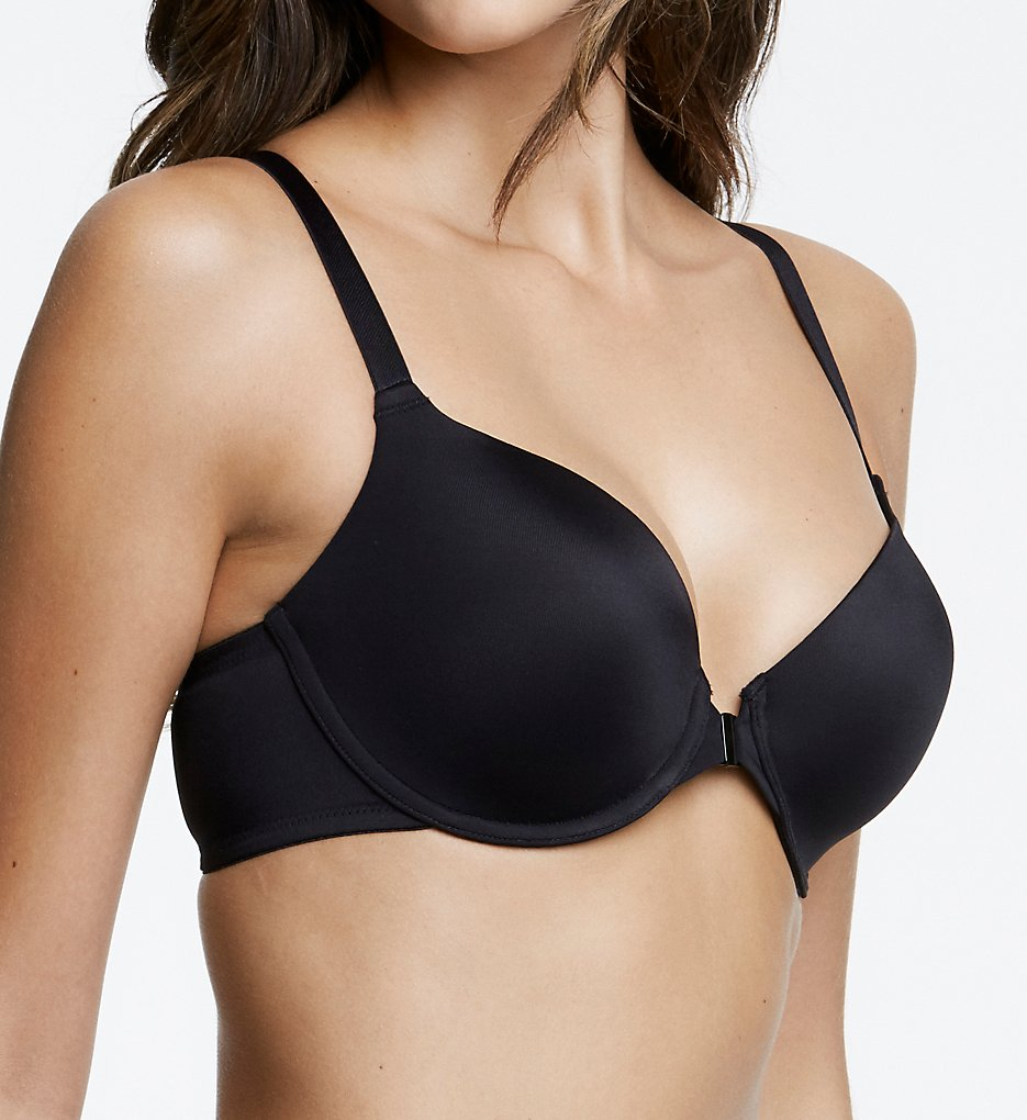 Dominique - Dominique 3900 Talia Front Closure Racerback Bra (Black 32A)