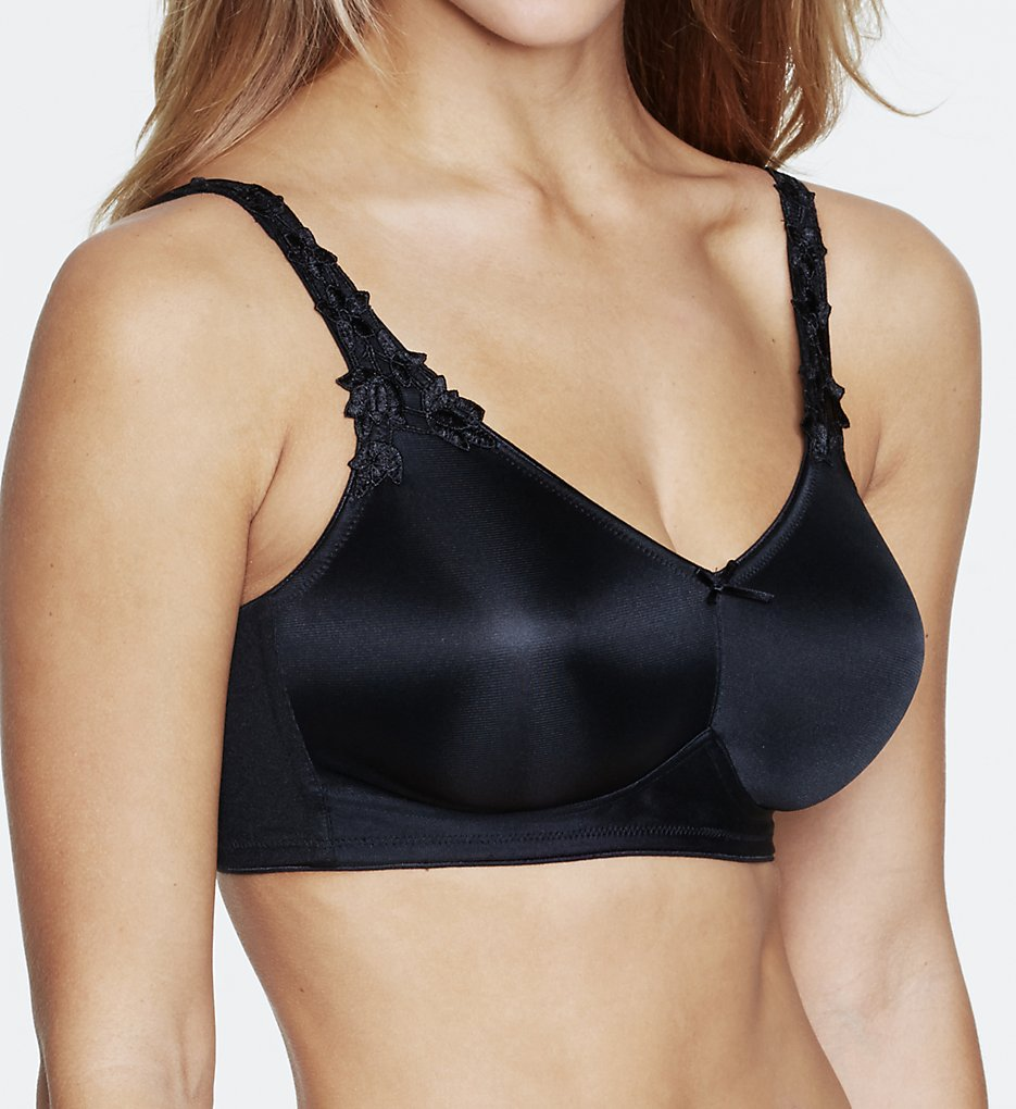 Dominique : Dominique 6800 Jilian Everyday Wireless Minimizer Bra (Black 32B)