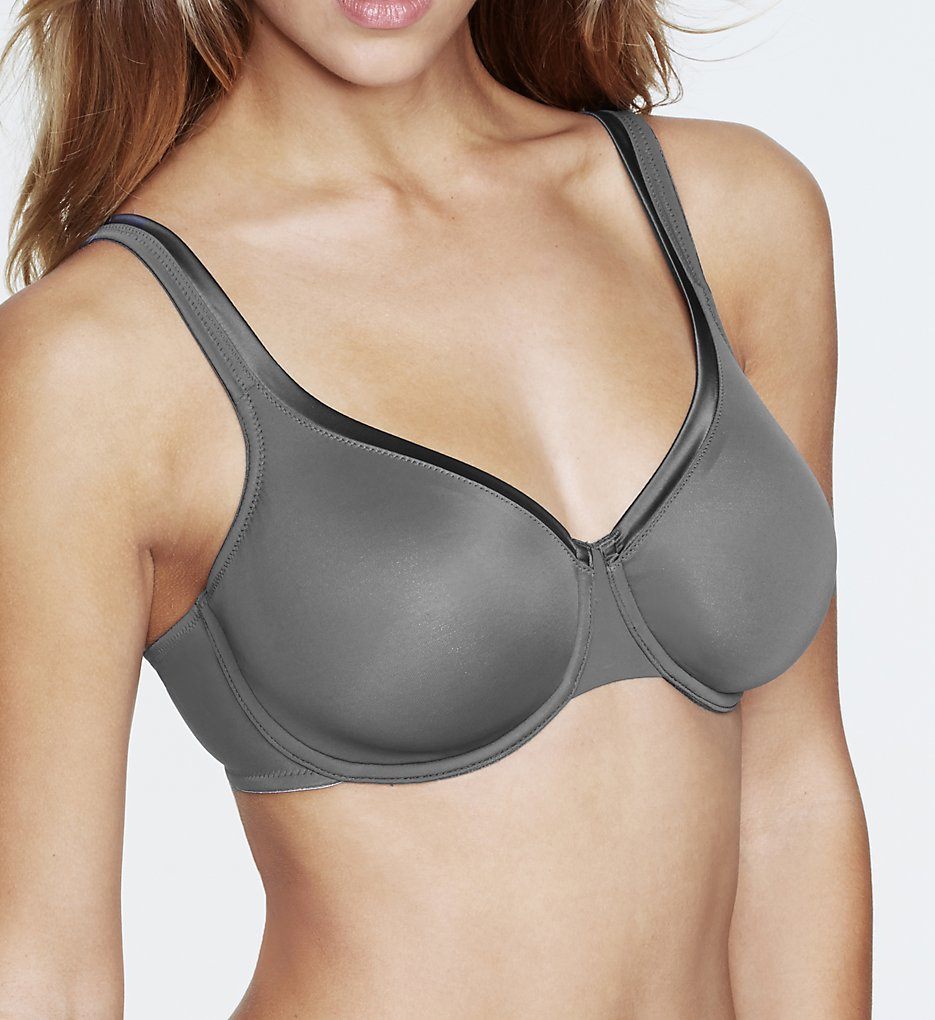 Dominique - Dominique 7200 Anais Everyday Seamless Breathable Bra (Graphite Grey 34B)