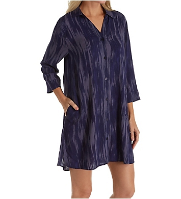 Donna Karan Sleepwear Satin Sleepshirt