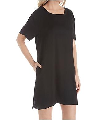 Donna Karan Sleepwear Short Sleeve Sleepshirt