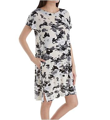 Donna Karan Sleepwear Pristine Floral Sleepshirt