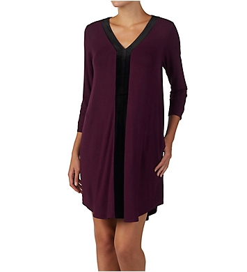 Donna Karan Sleepwear Hint of Velvet Sleepshirt