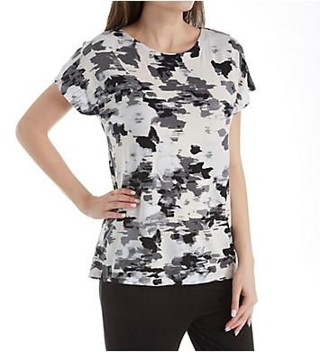 Donna Karan Sleepwear Pristine Floral Top