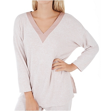 Donna Karan Sleepwear Sweater Lounge Top