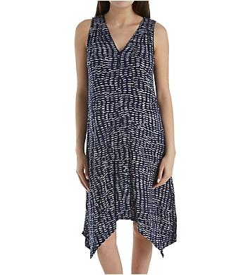 Donna Karan Sleepwear Peacoat Chemise