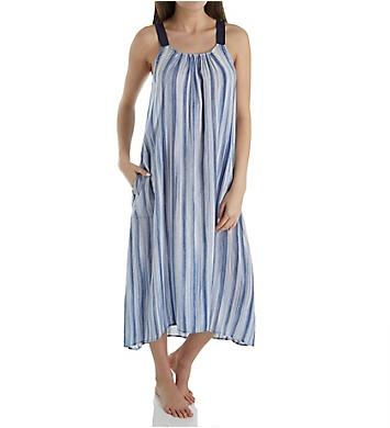 Donna Karan Sleepwear Peacoat Hi Low Chemise