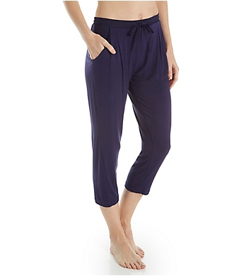 Donna Karan Sleepwear Waves Capri Pant