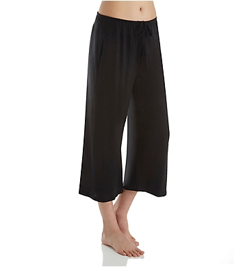 Donna Karan Sleepwear Calypso Wide Leg Crop Pant