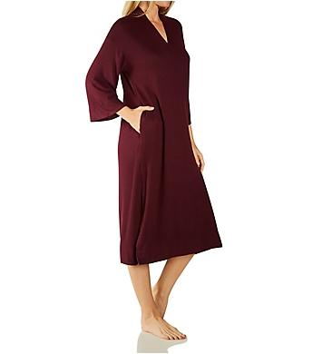 Donna Karan Sleepwear 3/4 Sleeve Caftan