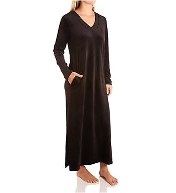 Donna Karan Sleepwear Casual Luxe Maxi Sleepshirt Lounger