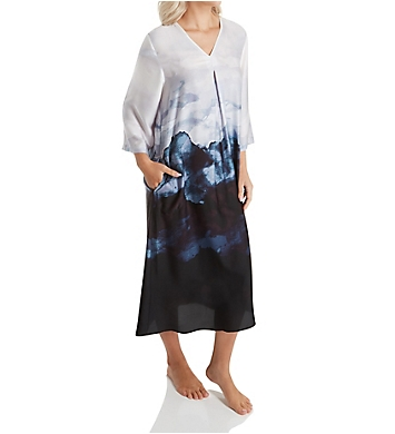 Donna Karan Sleepwear Before Sunrise Maxi Caftan