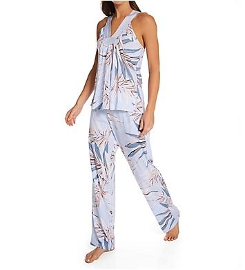Donna Karan Sleepwear Supima Cotton Jersey PJ Set
