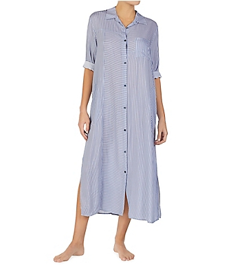 Donna Karan Sleepwear Broken Symmetry Maxi Gown