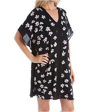 Donna Karan Sleepwear Short Caftan
