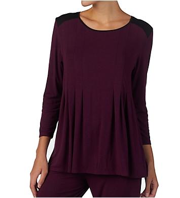 Donna Karan Sleepwear Classic 3/4 Sleeve Top