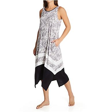 Donna Karan Sleepwear Sleeveless Long Nightgown