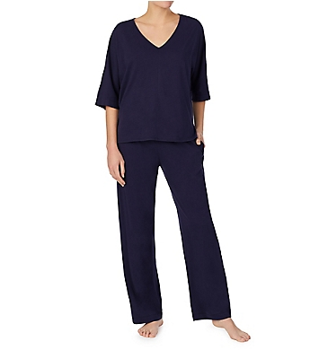 Donna Karan Sleepwear Supima Cotton PJ Set