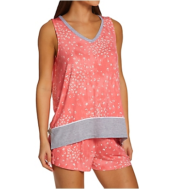 Donna Karan Sleepwear Tank & Boxer Pajama Set