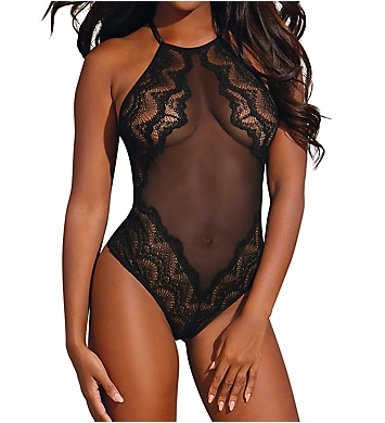 Dreamgirl Scalloped Lace Teddy
