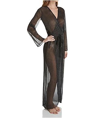 Dreamgirl Sheer Mesh Long Robe