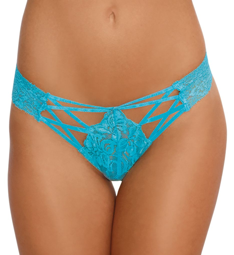 Dreamgirl Lace Up Cheeky Panty