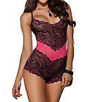 Stretch Lace Romper Teddy