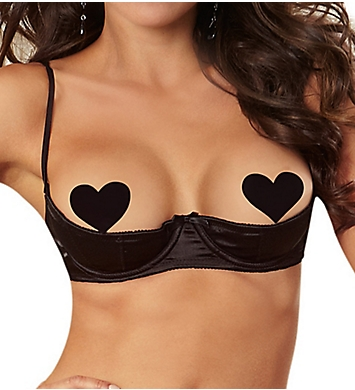 Dreamgirl Elegant Persuasion Open Cup Shelf Bra