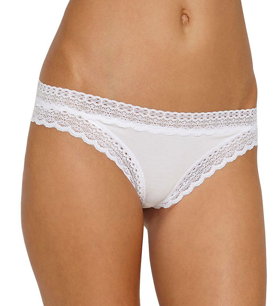 Eberjey - Eberjey A1712LR May Thong (White M)
