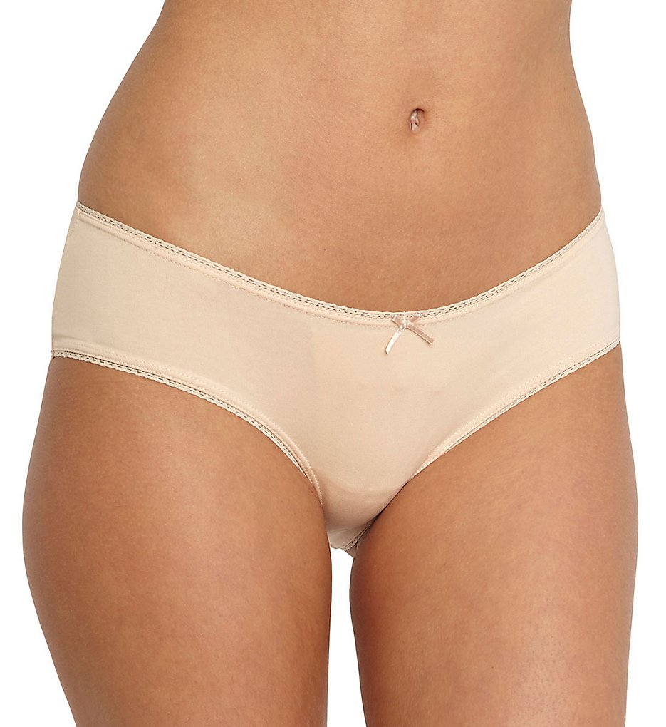 Eberjey A618X Pima Goddess Low Rider Bikini Panty (Buff M/L)