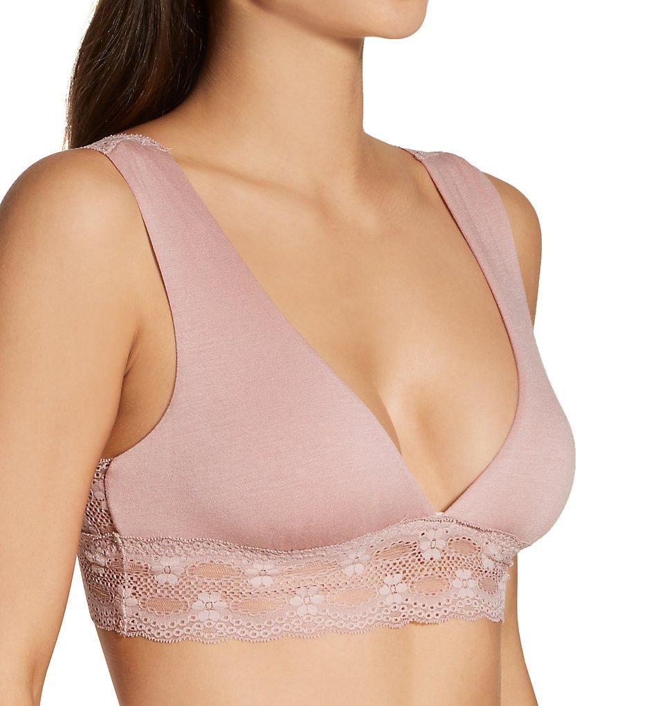 Eberjey - Eberjey B455 India Lace Back Bralette (Quartz S)