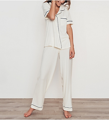 Eberjey Gisele Short Sleeve and Pant PJ Set