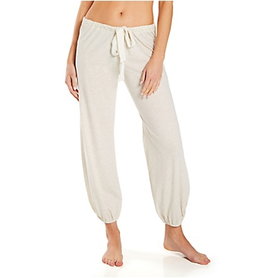 Eberjey Heather Cropped Pant