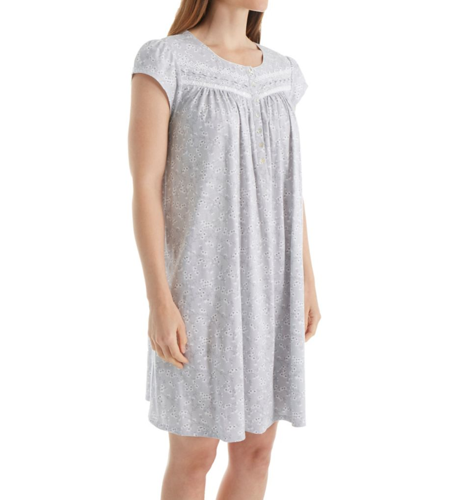 Eileen West Cap Sleeve Short Nightgown