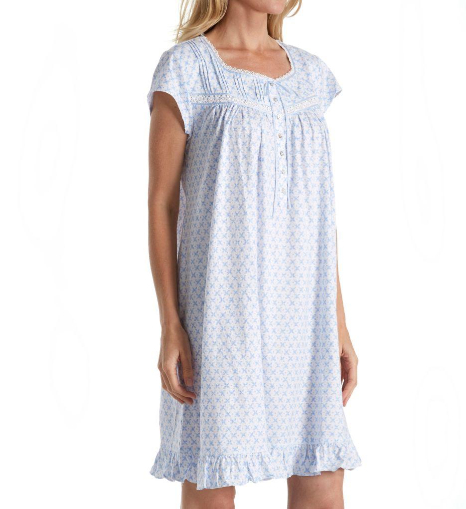 Eileen West Jersey Short Gown