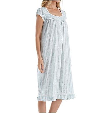 Eileen West Seaglass Floral Modal Waltz Nightgown