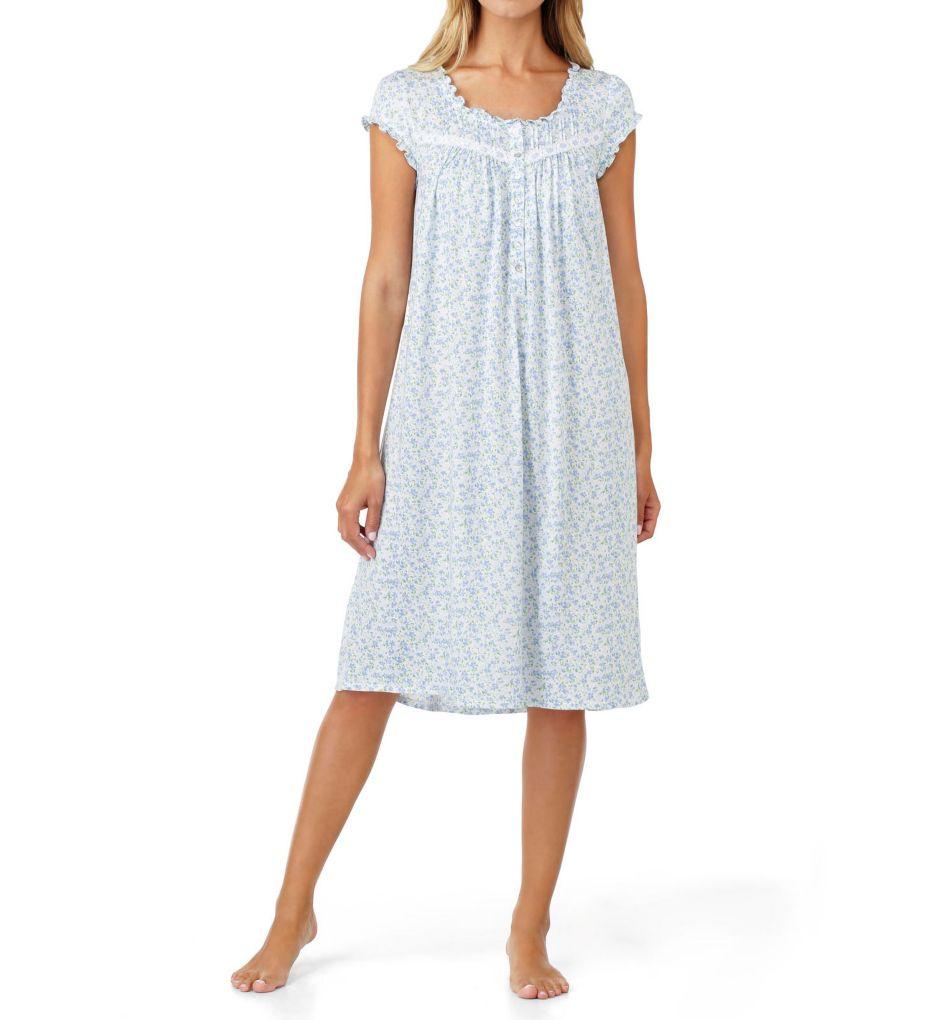 Eileen West Peri Floral Modal Waltz Nightgown