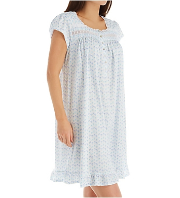 Eileen West Cotton Jersey Short Nightgown
