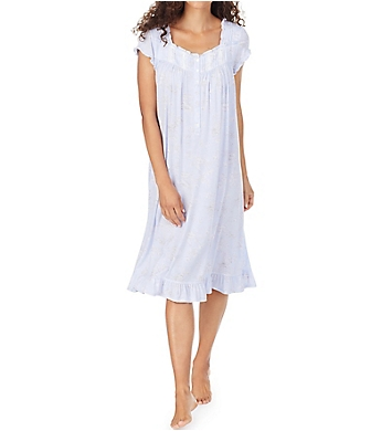 Eileen West Modal Waltz Nightgown with Cap Sleeves