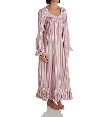 Eileen West Flannel Long Sleeve Ballet Nightgown