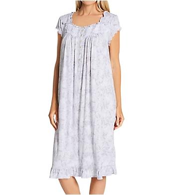 Eileen West Cap Sleeve Modal Spandex Knit Waltz Nightgown