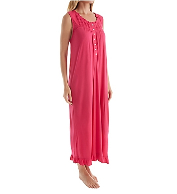 Eileen West Sleeveless Peony Waltz Nightgown