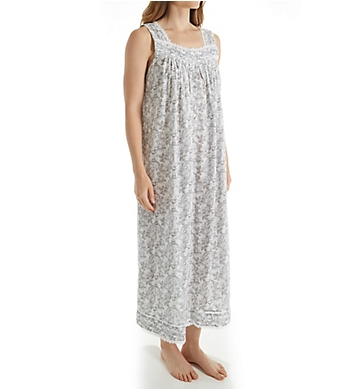Eileen West Charcoal Sleeveless Lawn Ballet Nightgown