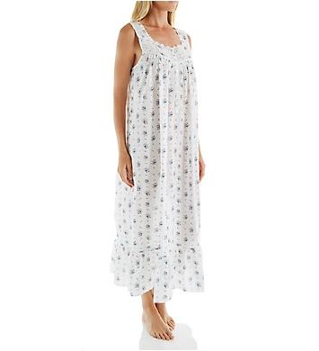 Eileen West Bouquet Sleeveless Lawn Ballet Nightgown