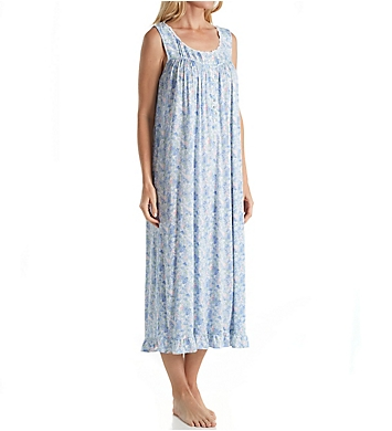 Eileen West Watercolor Floral Modal Ballet Nightgown