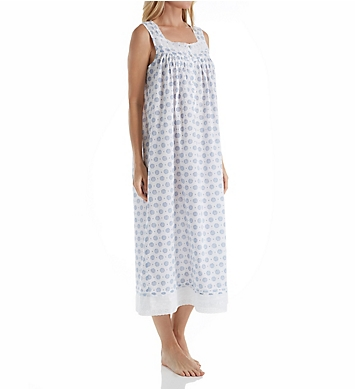Eileen West Dainty Printed Long Gown