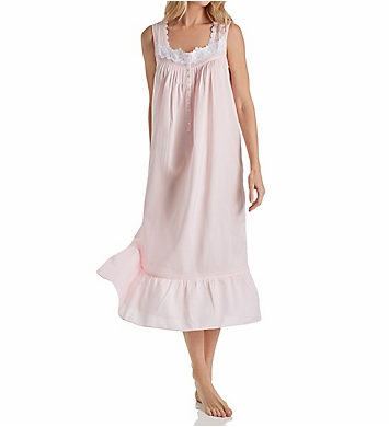 Eileen West Rose Solid Cotton Lawn Ballet Nightgown