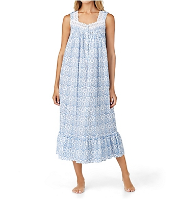Eileen West Floral Scroll Ballet Nightgown